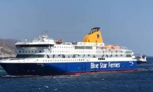 Σε εξέλιξη νέα προσπάθεια αποκόλλησης του «Blue Star Patmos»