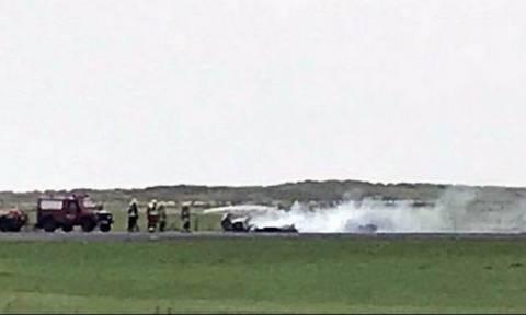 Ουαλία: Συνετρίβη αεροσκάφος κατά την προσγείωση - Νεκρός ο πιλότος
