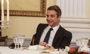 Με τον Εμανουέλ Μακρόν συναντήθηκε ο Κυριάκος Μητσοτάκης
