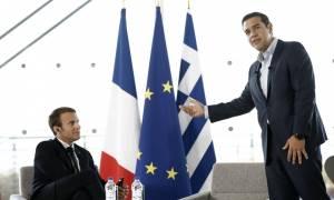 Τσίπρας: Επενδύστε στην Ελλάδα – Μακρόν: Σας στηρίζουμε, αλλά συνεχίστε τις μεταρρυθμίσεις