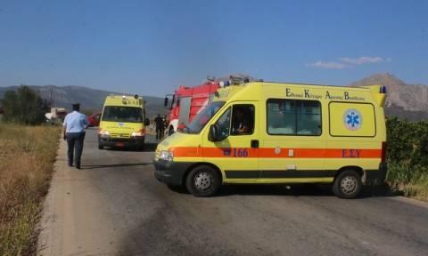 Κρήτη: Δεν έχουν τέλος τα τροχαία ατυχήματα - Χαροπαλεύει οδηγός μοτοσικλέτας (vid)