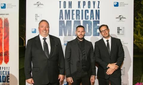 Λαμπερή επίσημη πρεμιέρα για την ταινία «American Made» του Πάρι Κασιδόκωστα-Λάτση