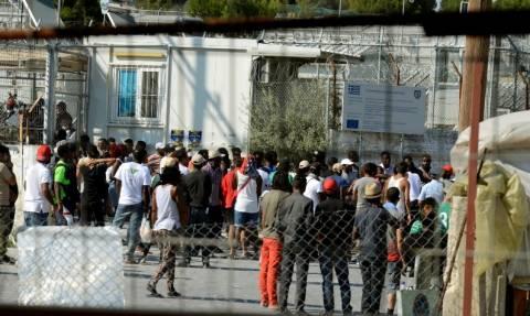 Μυτιλήνη: Μεγάλη αστυνομική επιχείρηση στη Μόρια