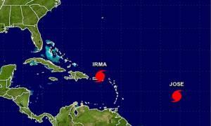 Ο τυφώνας Χοσέ θα σαρώσει την Καραϊβική