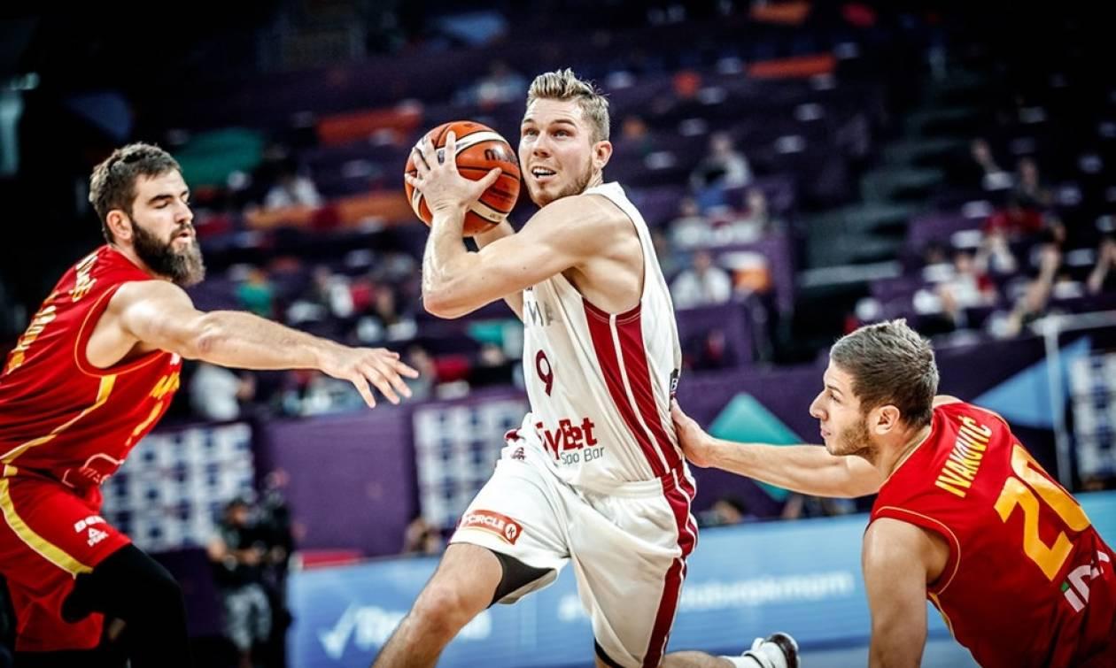 Ευρωμπάσκετ 2017: Σκόνη και… θρύψαλα το Μαυροβούνιο η Λετονία!