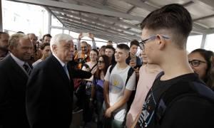 Ηχηρό μήνυμα Παυλόπουλου: Ο λαός έχει τεράστιες δυνάμεις - Η γνώση δεν αντικαθίσταται με τίποτα