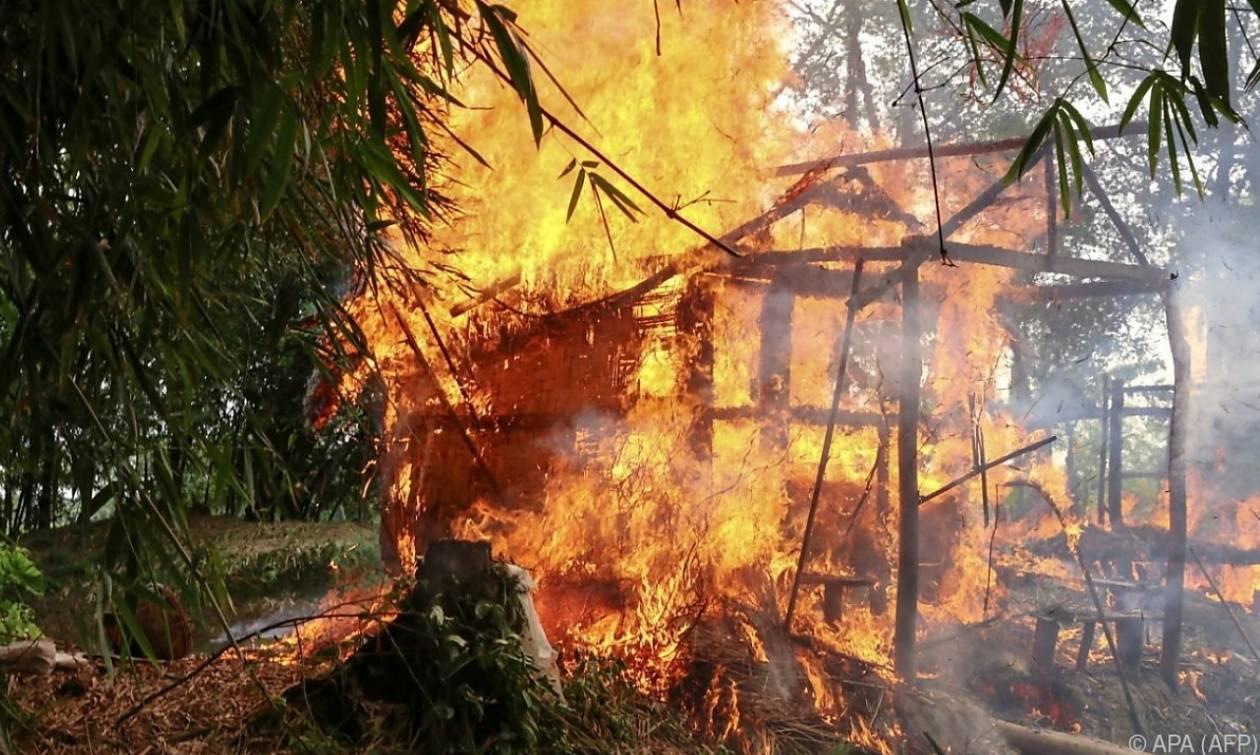 Πυρπολήσεις χωριών, εκτελέσεις και βασανιστήρια: Eθνοκάθαρση σε εξέλιξη στη Μιανμάρ καταγγέλει ο ΟΗΕ