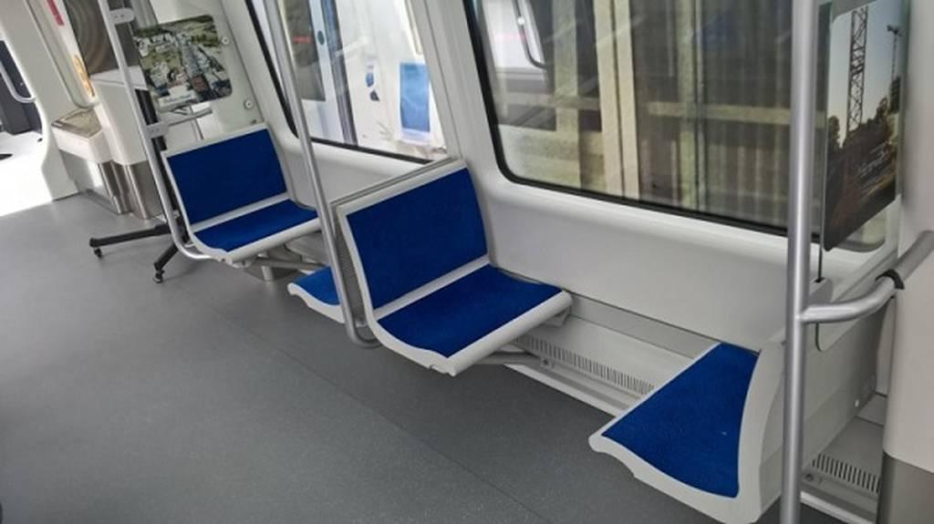 Έτσι είναι από μέσα το βαγόνι του μετρό Θεσσαλονίκης - Οι πρώτες φωτογραφίες