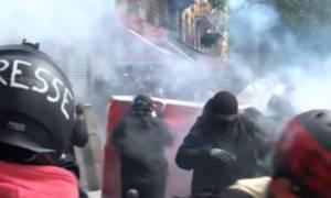 Σοβαρά επεισόδια στο κέντρο του Παρισιού (vid)
