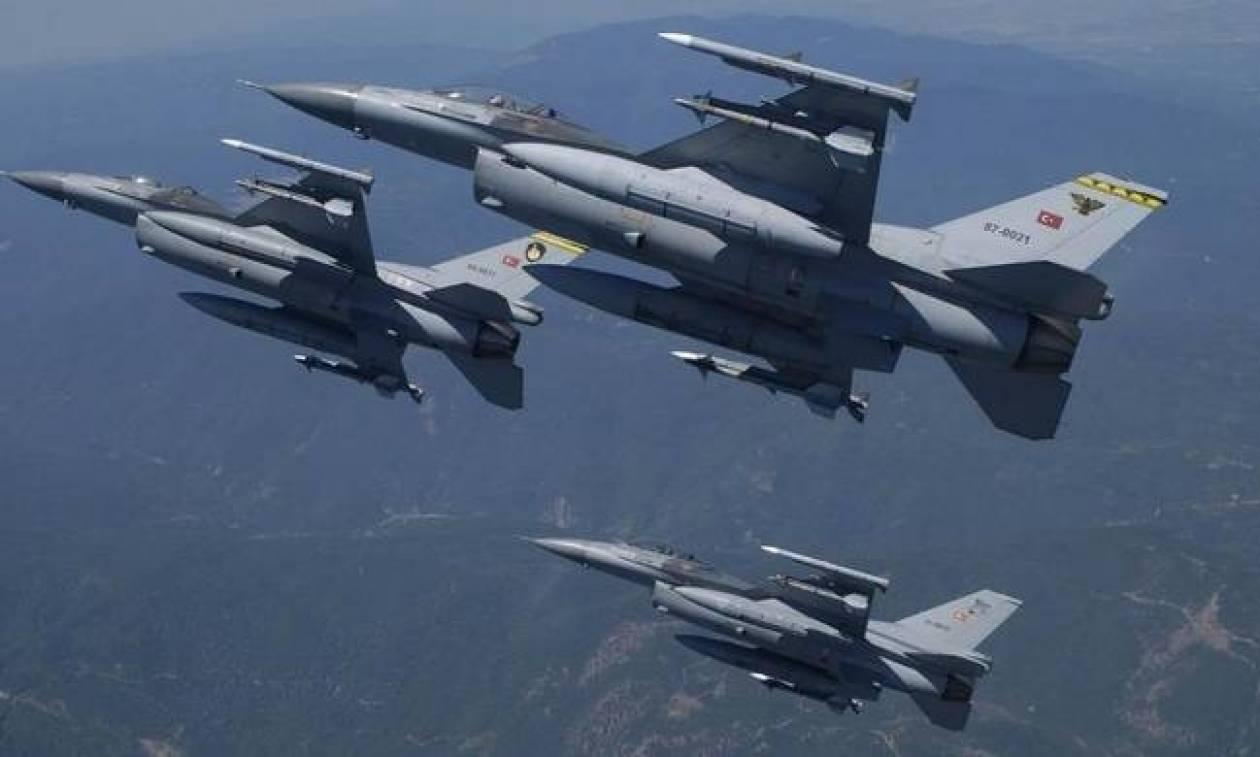Συναγερμός στο Αιγαίο: Μπαράζ παραβιάσεων και εικονικές αερομαχίες με οπλισμένα τουρκικά αεροσκάφη