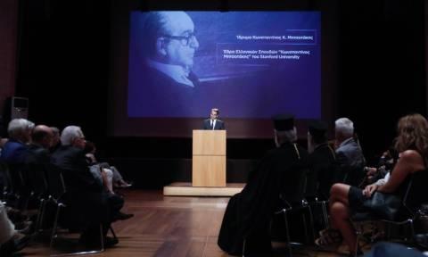 Η ομιλία του Κ. Μητσοτάκη σε εκδήλωση μνήμης για τον Κωνσταντίνο Μητσοτάκη