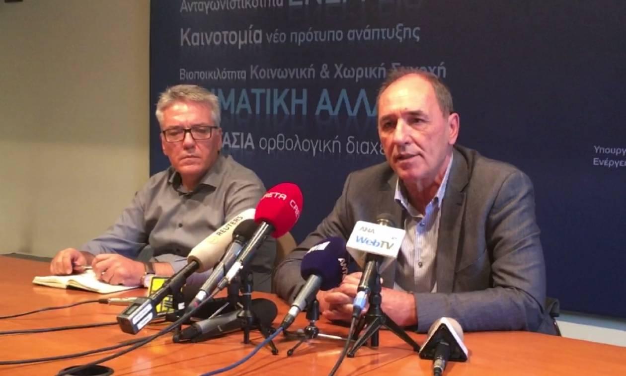 Σταθάκης: Έως αύριο θα έχει ολοκληρωθεί η αδειοδότηση της Ολυμπιάδας (vids)