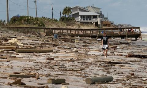 ΗΠΑ: Τραγικός ο απολογισμός από τον τυφώνα Ίρμα (vid)