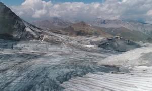 Παγκόσμια ανησυχία: Λιώνουν ταχύτατα οι παγετώνες των Άλπεων