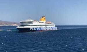 Έρευνες του Λιμενικού και στα καύσιμα του Blue Star Patmos για την μόλυνση του Σαρωνικού