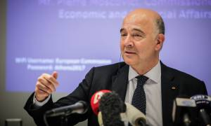 Μοσκοβισί: Η Ελλάδα να συνεχίσει τις μεταρρυθμίσεις για να γίνει ελκυστική στην ευρωζώνη