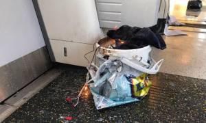 Τρομοκρατική επίθεση Λονδίνο: Ήθελαν μακελειό - Γεμάτη καρφιά και βίδες ήταν η βόμβα στο μετρό