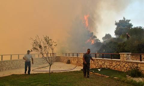 Φωτιά ΤΩΡΑ μέσα στην πόλη της Ζακύνθου