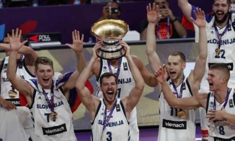 EuroBasket 2017: Πρωταθλήτρια Ευρώπης η Σλοβενία με συγκλονιστικό Ντράγκιτς