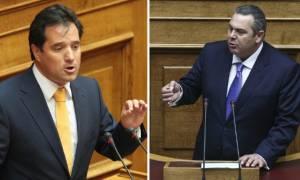 Χαμός στη Βουλή: Άγριος καβγάς Καμμένου – Γεωργιάδη (vid)