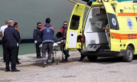 Φρικτός θάνατος οδηγού μέσα στο «Blue Star 1» στο λιμάνι του Πειραιά