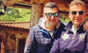 Δημήτρης Μάρκος - Γιώργος Λιάγκας: Δείτε τους πριν από πολλά χρόνια! (pic)