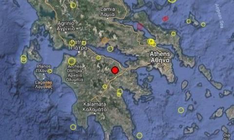 Σεισμός ταρακούνησε τη Νεμέα – Αισθητός και στην Κόρινθο