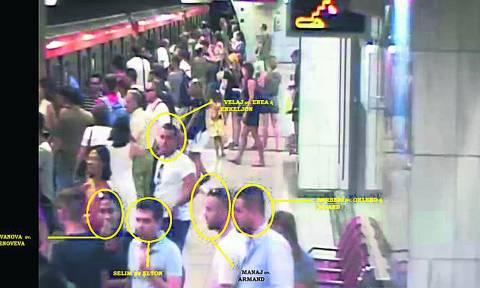 Αυτή είναι η συμμορία των πορτοφολάδων που δρούσε σε Μετρό και ΗΣΑΠ (pics)