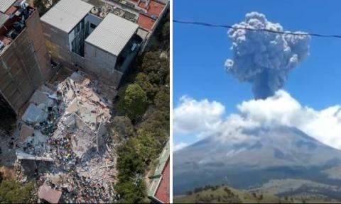 Τρόμος στο Μεξικό: Ο φονικός εγκέλαδος ξύπνησε μεγάλο ηφαίστειο (video)