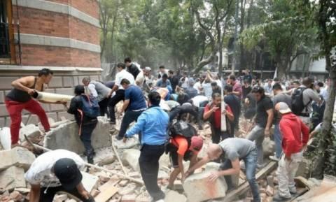 Σεισμός Μεξικό: Κανένας Έλληνας ανάμεσα στα θύματα