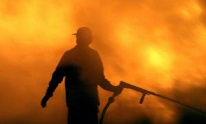 Φωτιά σε εξέλιξη στον Αποκόρωνα Χανίων κοντά στο χωριό Βαφές