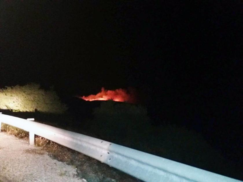 Μεγάλη φωτιά στην Λημνιά Καβάλας