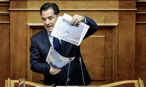 Γεωργιάδης στη Βουλή: «Ο Κουρουμπλής είπε ψέματα» (pics)