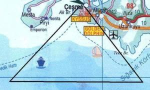 Συναγερμός! Τι ψάχνουν οι Τούρκοι στο «Τρίγωνο του Διαβόλου» στο Αιγαίο;