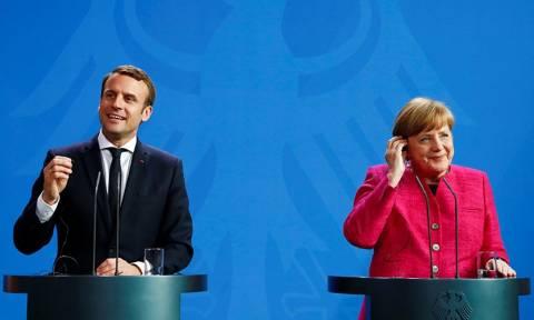Εκλογές Γερμανία: Συγχαρητήρια από  Μακρόν σε Μέρκελ για την εκλογική της νίκη