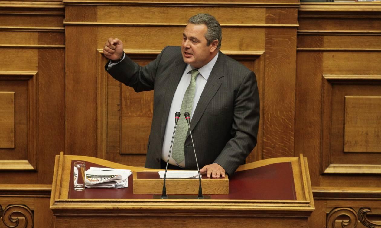 Όλοι εναντίον Καμμένου! Χαμός στη Βουλή και «όχι» σε σύσταση Εξεταστικής