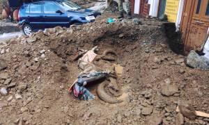 Κακοκαιρία: Τις πληγές τους μετρούν οι κάτοικοι της Σαμοθράκης (pics&vid)