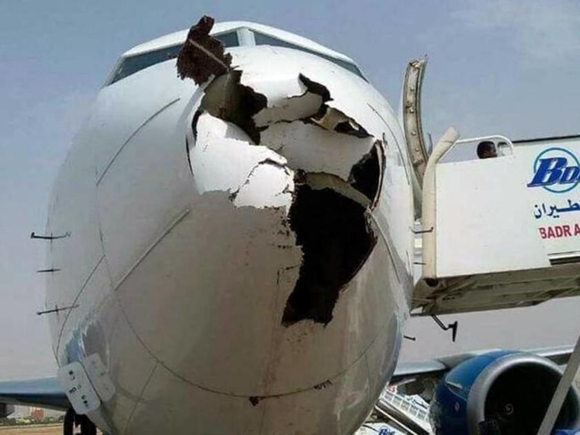 Απίστευτες εικόνες: Δείτε πώς έγινε ένα Boeing 737 όταν συγκρούστηκε με πουλιά!