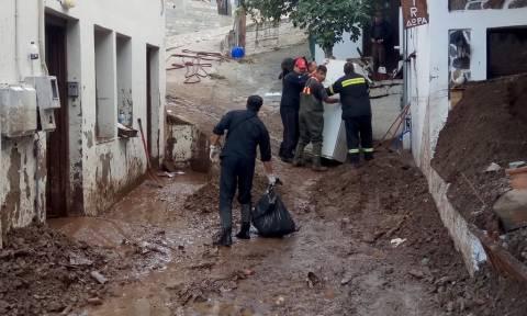 Κακοκαιρία Σαμοθράκη: Εντολή Σκουρλέτη για έκτακτη οικονομική στήριξη του νησιού