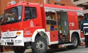 Υπό έλεγχο η φωτιά σε βιομηχανία παρασκευής ανελκυστήρων