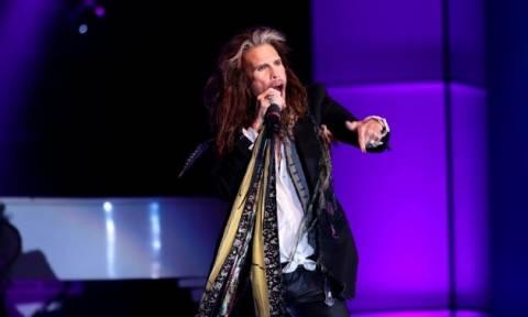 Ακυρώνουν τις συναυλίες τους οι Aerosmith - Πρόβλημα υγείας για τον Στίβεν Τάιλερ