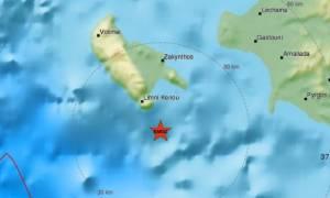 Σεισμός στη Ζάκυνθο - Αισθητός στην Κέρκυρα