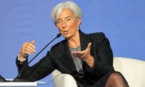 «Καμπανάκι» ΔΝΤ για τα κόκκινα δάνεια - Συνάντηση Λαγκάρντ με Έλληνες τραπεζίτες