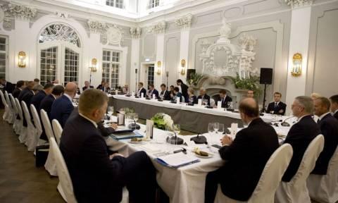 Εσθονία-ΕΕ: Tο μέλλον της Ευρωπαϊκής Ένωσης απασχόλησε το δείπνο των ηγετών