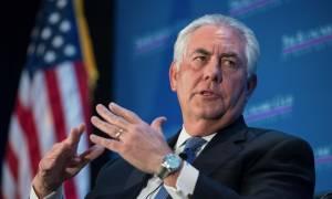 Τίλερσον: Έχουμε γραμμές επικοινωνίας με την Βόρεια Κορέα