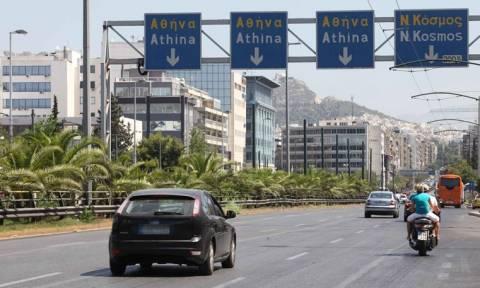 Προσοχή! Κυκλοφοριακές ρυθμίσεις το πρωί της Κυριακής στη λεωφόρο Συγγρού