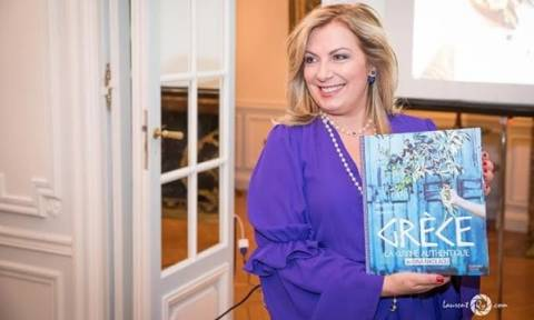 Ντίνα Νικολάου: Mια υπέροχη νύχτα στο Παρίσι με γεύσεις Ελλάδας!