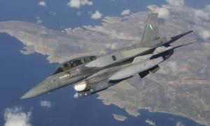 Θρίλερ με ελληνικό F-16! Μηχανική βλάβη πάνω από τη Ρόδο