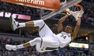 Τα... σπάει ο Giannis: Κορυφαίος μη Αμερικανός στο NBA ο Αντετοκούνμπο!