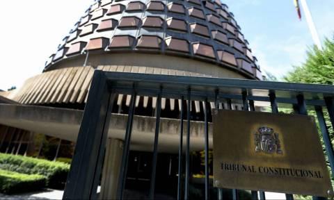 Ισπανία: Το Συνταγματικό Δικαστήριο ακύρωσε τη συνεδρίαση της καταλανικής Βουλής